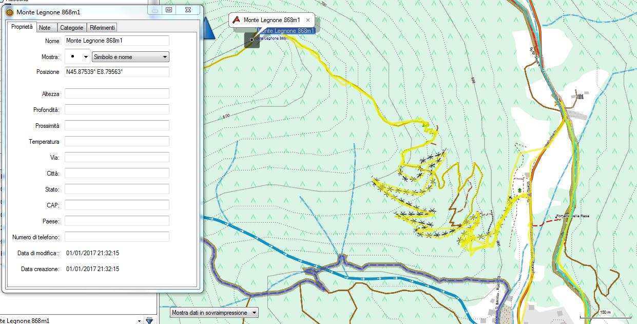 Legenda Mappa - Openmtbmap org - Mappe per Mountain Bike e