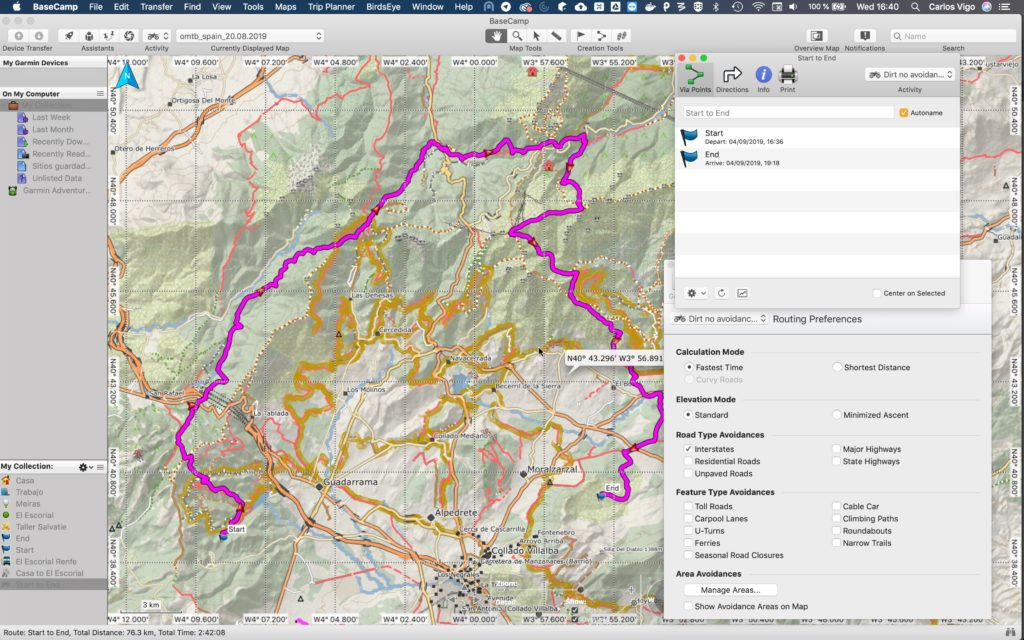 Autorouting - Openmtbmap org - Mountainbike and Hiking Maps
