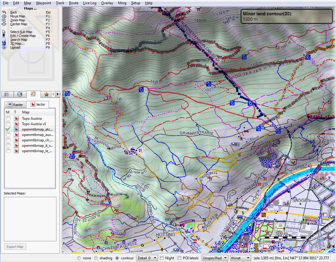 Openmtbmap org - Mountainbike and Hiking Maps based on