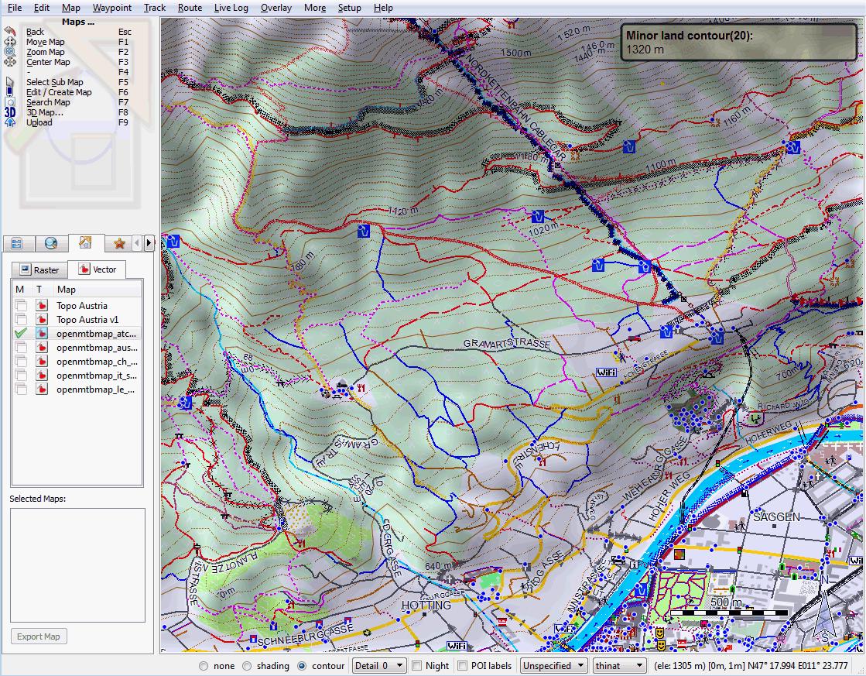 Openmtbmap sample map